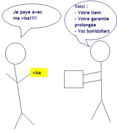 achat visa garantie prolongee bonidollars Une garantie prolonge? Non merci, je vais payer avec ma Visa Desjardins!